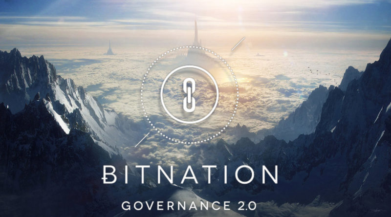 bitnation banner mountain