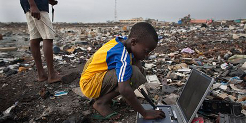 Electronic-waste-in-Agbog-